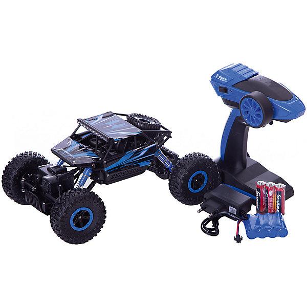 Радиоуправляемый краулер Taigen, 1:18Радиоуправляемые машины<br>Характеристики:<br><br>• возраст: от 8 лет;<br>• материал: металл, пластик;<br>• масштаб: 1:18;<br>• цвет: синий;<br>• максимальная скорость 20 км/ч;<br>• дальность действия пульта: до 50 м;<br>• в наборе: краулер, пульт управления, аккумулятор Ni-Cd, зарядное устройство, инструкция;<br>• тип батареек: АА;<br>• наличие батареек: в комплекте;<br>• аккумулятор: 4,8V 700 mAh;<br>• полный привод 4WD;<br>• время зарядки: 3-4 ч.;<br>• время игры: 20 мин.;<br>• частота пульта: 2,4 ГГц;<br>• размер игрушки: 28х16х15 см;<br>• вес упаковки: 1,26 кг.;<br>• размер упаковки: 33х22х18 см;<br>• страна бренда: Китай.<br><br>Радиоуправляемый краулер Taigen имеет детализированный дизайн в точности повторяющий внедорожник класса трофи-рейд. Машина имеет крупные колеса, металлический корпус. Управляется дистанционно с помощью стильного пульта пистолетного типа.<br><br>Внедорожник на полном приводе едет во всех направлениях и преодолевает пересеченную местность, щебеночную, земляную и песочную поверхность. В компании с еще одним краулером Taigen (продается отдельно) можно устраивать гоночные заезды на полосе препятствий на время.<br><br>Игрушка выполнена из прочных качественных материалов, отлично держит равновесие и устойчива к механическим повреждениям.<br><br>Радиоуправляемый краулер Taigen, 1:18 можно купить в нашем интернет-магазине.<br>Ширина мм: 330; Глубина мм: 220; Высота мм: 180; Вес г: 1260; Цвет: зеленый; Возраст от месяцев: 96; Возраст до месяцев: 2147483647; Пол: Мужской; Возраст: Детский; SKU: 8598849;