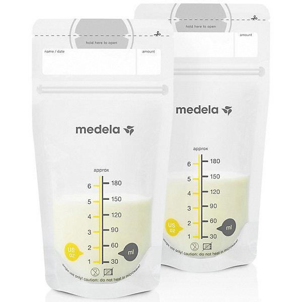 Medela Пакеты одноразовые для хранения грудного молока Medela 50 шт. цена