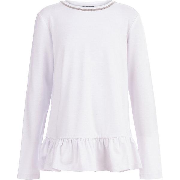 Купить Блуза Gulliver для девочки, Китай, белый, 164, 152, 122, 134, 140, 128, 170, 158, 146, Женский