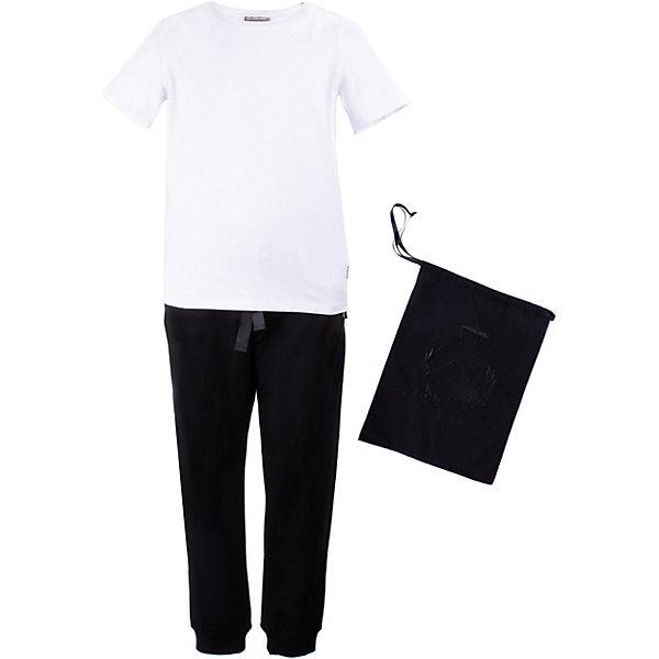 Gulliver Комплект: футболка, брюки Gulliver для девочки