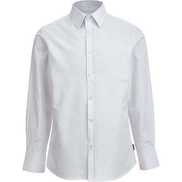 Сорочка Gulliver для мальчикаБлузки и рубашки<br>Характеристики товара:<br><br>• цвет: белый<br>• пол: мальчики<br>• состав: 80% хлопок, 20% полиэстер<br>• сезон: круглый год<br>• с длинным рукавом<br>• воротник-стойка<br>• застежки: пуговицы<br>• манжеты на пуговицах<br>• особенности: школьная, повседевная<br>• страна бренда: Российская Федерация<br><br>Школьная рубашка с длинным рукавом для мальчика. Белая рубашка застегивается на пуговицы, манжеты рукавов на трех пуговицах. Классическая рубашка будет хорошо сочетаться с другими предметами гардероба.<br><br>Уникальный дизайн и качество коллекций Gulliver сделают гардероб ребенка стильным и выразительным!<br>Ширина мм: 174; Глубина мм: 10; Высота мм: 169; Вес г: 157; Цвет: белый; Возраст от месяцев: 96; Возраст до месяцев: 96; Пол: Мужской; Возраст: Детский; Размер: 128,134,122,140,152,164,170,158,146; SKU: 8606297;