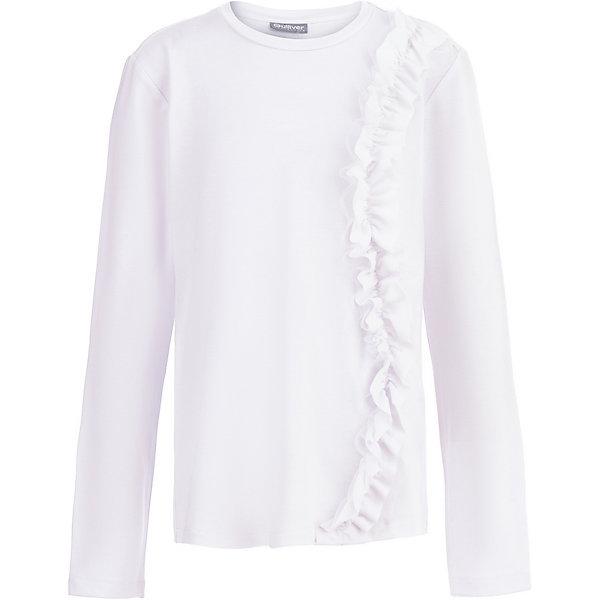 Купить Блуза Gulliver для девочки, Китай, белый, 170, 152, 146, 140, 122, 158, 128, 164, 134, Женский