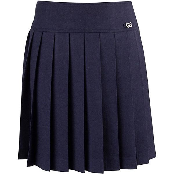 Gulliver Юбка Gulliver для девочки silver spoon silver spoon школьная юбка в складку синяя