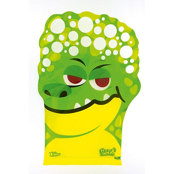 Glove-A-Bubbles Набор для запуска мыльных пузырей Glove a Bubbles Крокодил