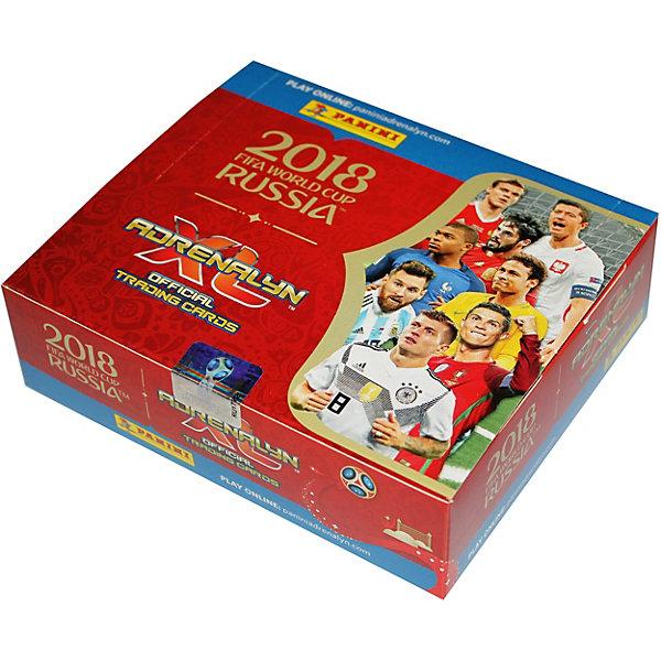 Panini Коллекционные игровые карточки Panini FIFA World Cup Russia 2018 Adrenalyn XL, 24 пакетика по 6 карточек