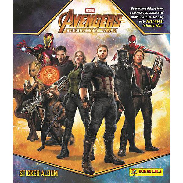 Panini Альбом Мстители: Война бесконечности