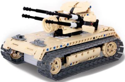 Конструктор на радиоуправлении Evoplay  Anti Aircraft Tank , 457 деталей, артикул:8609250 - Радиоуправляемые игрушки