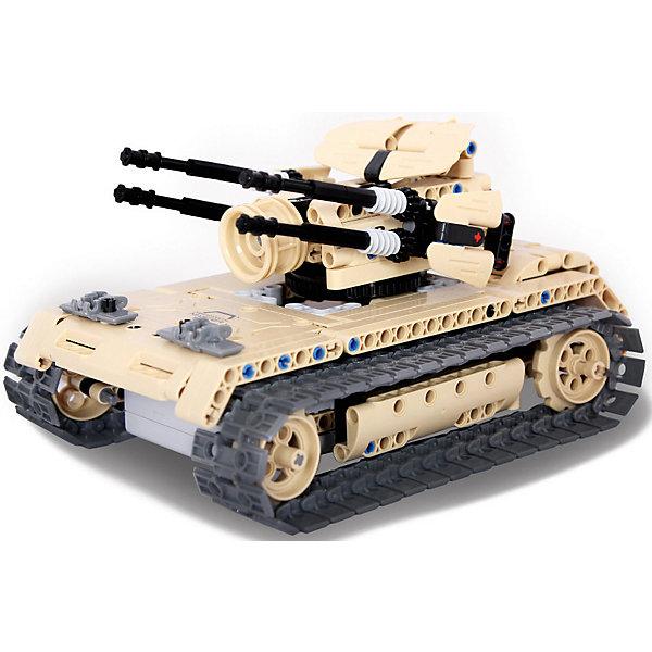 Купить Конструктор на радиоуправлении Evoplay Anti Aircraft Tank , 457 деталей, Китай, разноцветный, Мужской