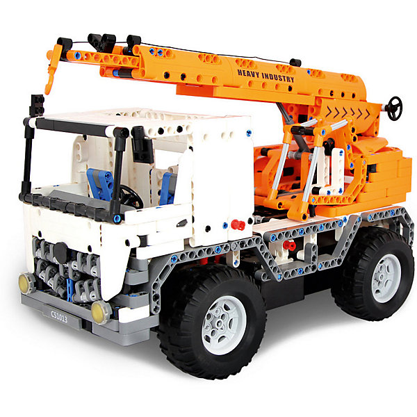 EvoPlay Конструктор на радиоуправлении Evoplay Mobile Crane, 838 деталей конструктор evoplay road legend cr 113 future