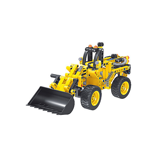 EvoPlay Конструктор Evoplay Wheel Loader, 261 деталь аккумулятор nano tech аналог bp 5m 900 mah для nokia 5610 6220 8600