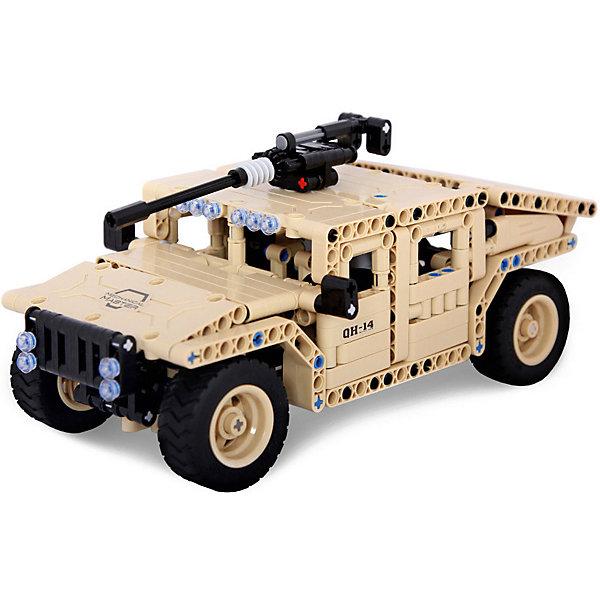 Фото - EvoPlay Конструктор на радиоуправлении Evoplay Armored Carrier, 502 детали конструктор машина на радиоуправлении в ассортименте 443 детали