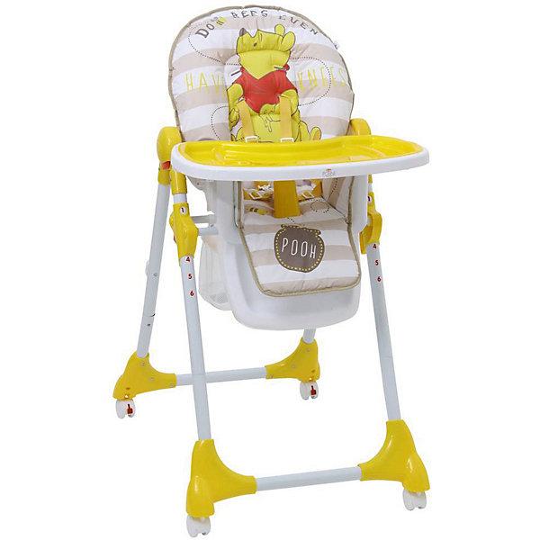 Polini-kids Стульчик для кормления Polini 470 Медвежонок Винни Чудесный день Disney baby, стульчик для кормления hauck sit in relax birdie