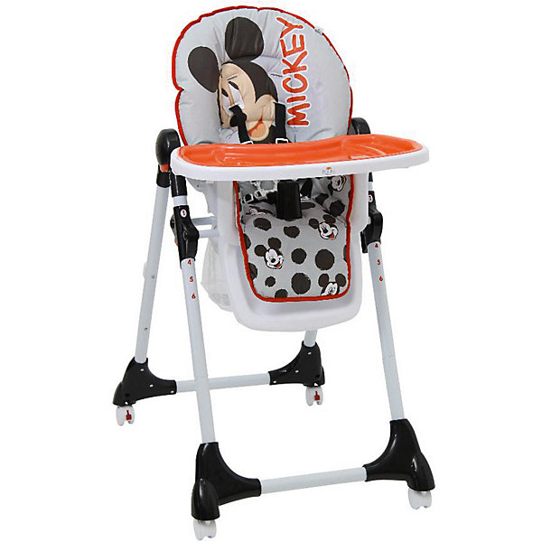 Polini-kids Стульчик для кормления Polini 470 Микки Маус Disney baby, цена