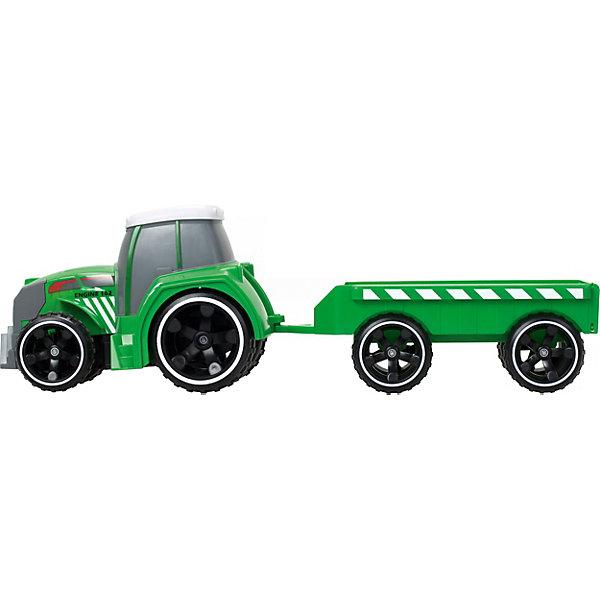 - Трактор Silverlit Tooko на ИК управлении, с прицепом строительная техника технопарк трактор с прицепом 1801c 1bcd r 17 см