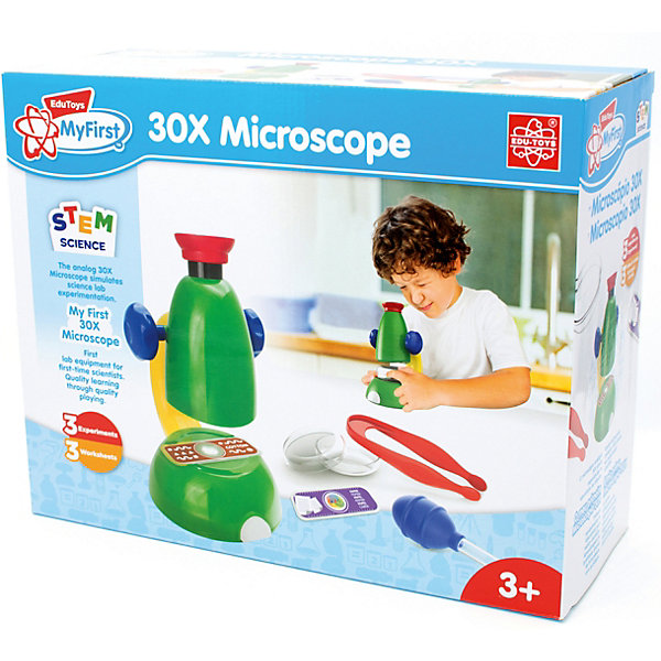 Edu-Toys Микроскоп Edu-Toys eastcolight микроскоп mp 450 телескоп 20351 26167