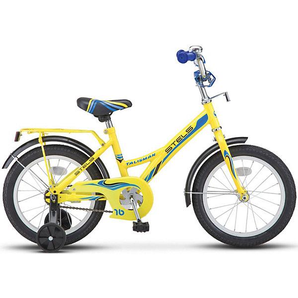 Купить Детский велосипед STELS Talisman 18 (Z010) 12 жёлтый, Россия, желтый, Унисекс