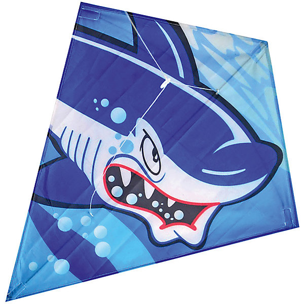 X-Match Воздушный змей X-Match Акула, 60х70 см воздушный змей от винта смайлик
