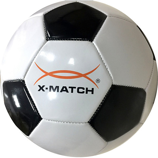 Футбольный мяч X-Match, 22 смМячи детские<br>Характеристики:<br><br>• возраст: от 3 лет;<br>• материал: ПВХ, резина;<br>• диаметр мяча: 21 см;<br>• машинная сшивка;<br>• однослойный;<br>• вес упаковки: 360 гр.;<br>• размер упаковки: 20х14х22 см;<br>• страна бренда: Россия;<br>• товар в ассортименте.<br><br>Футбольный мяч X-Match оснащен резиновой камерой. Подходит для тренировок и командных игр. Перед использованием мяч необходимо надуть с помощью насоса. Насос в комплект не входит.<br><br>Внимание! Товар в ассортименте. Выбрать определенный цветовой вариант заранее невозможно.<br><br>Мяч футбольный X-Match, 1 слой PVC можно купить в нашем интернет-магазине.<br>Ширина мм: 200; Глубина мм: 140; Высота мм: 220; Вес г: 360; Цвет: черный/белый; Возраст от месяцев: 36; Возраст до месяцев: 2147483647; Пол: Мужской; Возраст: Детский; SKU: 8616541;