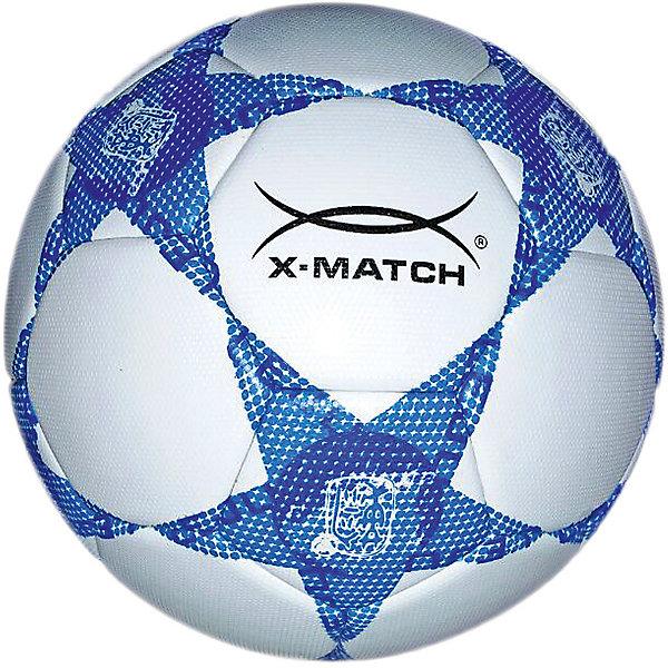 X-Match Футбольный мяч X-Match ламинированный, 23 см футбольный мяч locomotive pu zuqiu