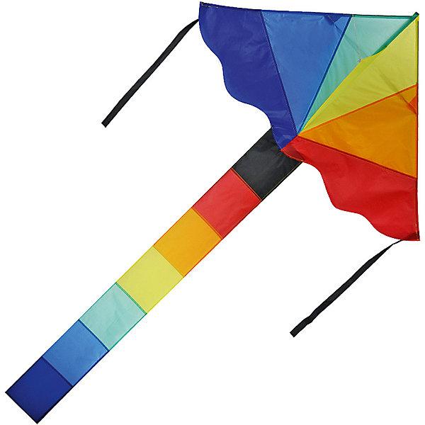 Воздушный змей X-Match Радужный, 115х200 смВоздушные игры<br>Характеристики:<br><br>• возраст: от 3 лет;<br>• материал: текстиль, пластик, металл;<br>• длина леера: 30 метров;<br>• размер купола: 115х200 см;<br>• вес упаковки: 140 гр.;<br>• размер упаковки: 11х2х61 см;<br>• страна бренда: Россия.<br><br>Воздушный змей X-Match имеет красочный дизайн и классическую форму с развивающимися лентами. Легкий и маневренный змей взлетает высоко и быстро. Лучшие условия для запуска – небольшой ветер скоростью 10-20 метров в секунду и открытая местность. Воздушный змей управляется с земли с помощью длинного леера. Сделано из качественных материалов.<br><br>Воздушного змея «Радужный» можно купить в нашем интернет-магазине.<br>Ширина мм: 110; Глубина мм: 20; Высота мм: 610; Вес г: 140; Цвет: разноцветный; Возраст от месяцев: 36; Возраст до месяцев: 2147483647; Пол: Унисекс; Возраст: Детский; SKU: 8616551;
