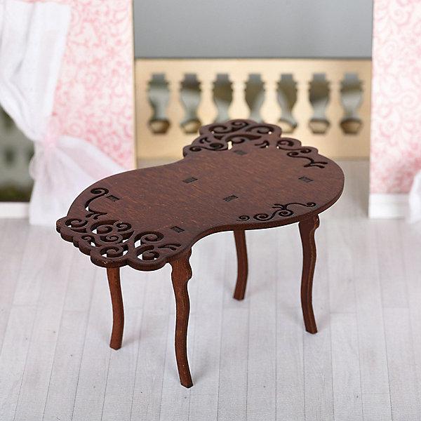 ЯиГрушка Набор мебели Одним прекрасным утром Стол резной, коричневый