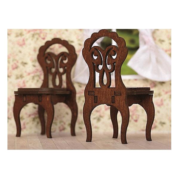 ЯиГрушка Набор мебели Одним прекрасным утром Два стула, коричневый