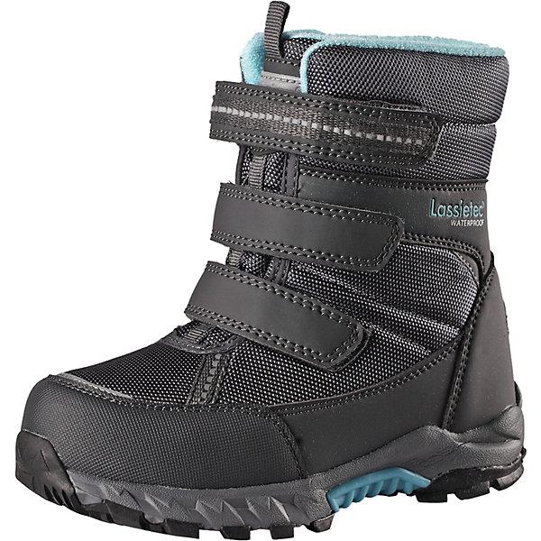 Купить Утепленные ботинки LASSIE Boulder Lassietec, Китай, серый, 27, 32, 30, 34, 28, 29, 23, 22, 35, 25, 31, 24, 26, 33, Мужской
