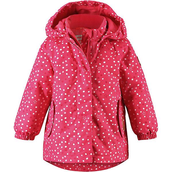 Утепленная куртка Reima OhraОдежда<br>Характеристики товара:<br><br>• состав: 100% полиамид, полиуретановое покрытие <br>• подкладка: 100% полиэстер <br>• утеплитель: Reima® Soft Loft 160 г/м2 <br>• сезон: демисезон, зима <br>• температурный режим: от 0 до -20С <br>• водонепроницаемость: 8000 мм <br>• воздухопроницаемость: 7000 мм <br>• износостойкость: 30000 циклов (тест Мартиндейла) <br>• застежка: молния с защитой подбородка <br>• все швы запаяны и водонепроницаемы <br>• водо- и ветронепроницаемый, дышащий и грязеотталкивающий материал <br>• водо- и грязеотталкивающая пропитка без содержания фторуглеродов BIONIC-FINISH®ECO <br>• гладкая подкладка из полиэстера <br>• безопасный, съемный капюшон <br>• эластичные манжеты <br>• внутренняя регулировка талии <br>• два кармана с кнопками <br>• петля для дополнительных светоотражающих деталей <br>• светоотражающие детали <br>• страна бренда: Финляндия<br><br>Основные швы в куртке проклеены, а сама она изготовлена из водо и ветронепроницаемого, грязеотталкивающего материала. Гладкая подкладка и молния во всю длину облегчают надевание. Съемный капюшон защищает от ветра, к тому же он абсолютно безопасен – легко отстегнется, если вдруг за что-нибудь зацепится. Маленькие карманы на молнии надежно сохранят все сокровища. <br>Вся одежда Reima производится с запасом роста +6 см. Производитель рекомендует использовать термобелье и флисовую поддеву для сильных морозов.