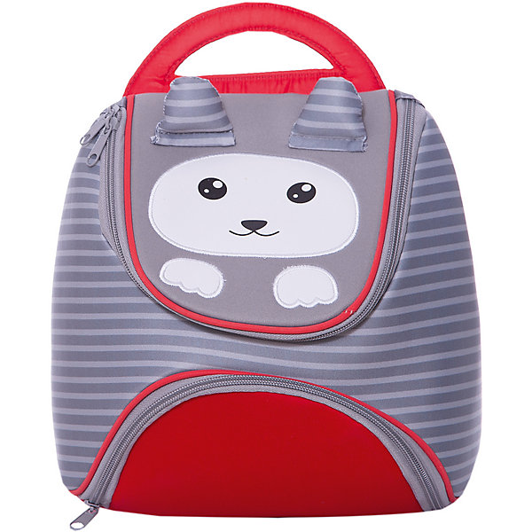 Детский рюкзак Феникс+ Енотик, серыйДетские рюкзаки<br>Характеристики:<br><br>• возраст: от 3 лет;<br>• материал: полиэстер;<br>• размер рюкзака: 22,5х24,5х14 см;<br>• количество отделений: 2;<br>• вес упаковки: 225 гр.;<br>• размер упаковки: 25х25х14 см;<br>• страна бренда: Россия.<br><br>Детский рюкзак «Енотик» от бренда «Феникс+» имеет два отделения на молнии. Внутренний карман застегивается на липучку. Рюкзак из полиэстера устойчив к влаге и загрязнениям, отличается яркостью. Со всех сторон предусмотрены светоотражающие элементы.<br><br>Спинка рюкзака уплотнена для комфортного ношения. Лямки регулируются под рост ребенка, есть жесткая ручка для переноски в руках. Рюкзак хорошо держит форму за счет формованного дна. Красочная аппликация и объемные ушки зверька завершают дизайн этой модели.<br><br>Рюкзак детский арт.46654 «Енотик» можно купить в нашем интернет-магазине.<br>Ширина мм: 250; Глубина мм: 250; Высота мм: 140; Вес г: 225; Цвет: серый; Возраст от месяцев: 36; Возраст до месяцев: 96; Пол: Женский; Возраст: Детский; SKU: 8639278;
