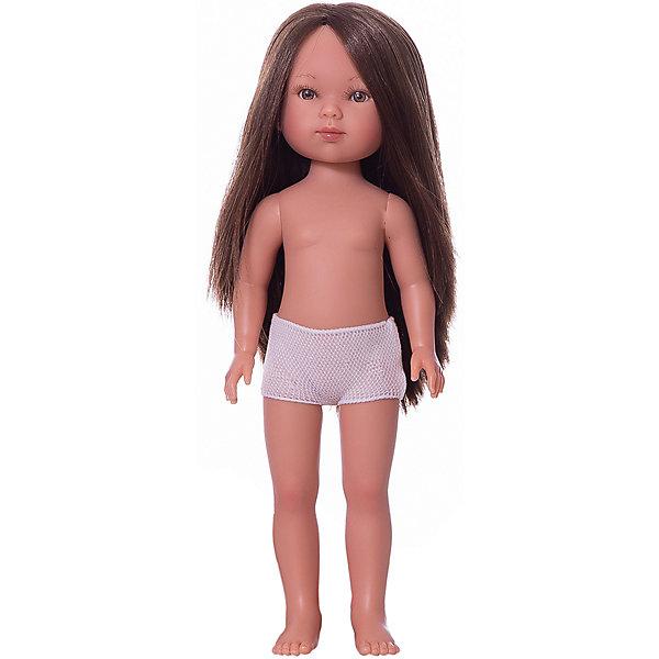 Vestida de Azul Кукла Vestida de Azul Карлотта брюнетка без чёлки, 28 см цена 2017