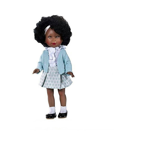 Vestida de Azul Кукла Vestida de Azul Весна Классика Паулина африканка, 33 см vestida de azul кукла vestida de azul весна классика паулина рыжеволосая 33 см