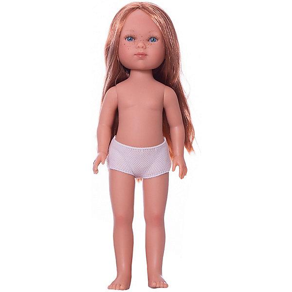 Vestida de Azul Кукла Vestida de Azul Карлотта рыжеволосая без чёлки, 28 см vestida de azul кукла карлотта блондинка с челкой нюд