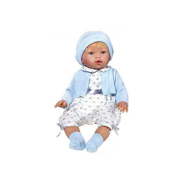 Фото - Vestida de Azul Кукла-пупс Vestida de Azul Тонино-инфант в голубом туалете, 45 см куклы и одежда для кукол vestida de azul марина инфанта в вечернем наряде мягконабивная 45 см