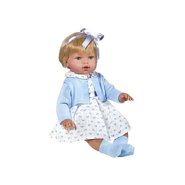 Vestida de Azul Кукла-пупс Vestida de Azul Марина-инфанта в голубом туалете, 45 см цена