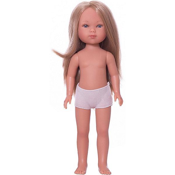 Vestida de Azul Кукла Vestida de Azul Карлотта блондинка без чёлки, 28 см vestida de azul кукла карлотта блондинка с челкой нюд