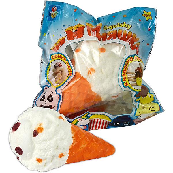 1Toy Игрушка-антистресс Мммняшка Большой рожок мороженого