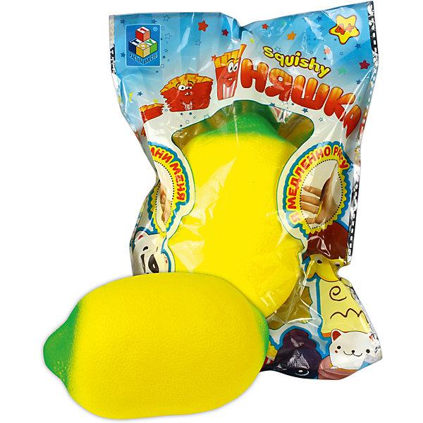 Игрушка-антистресс Мммняшка ЛимонСквиши<br>Характеристики товара:<br><br>• возраст: от 4 лет;• материал: полимер;<br>• размер упаковки: 20х16х8 см;<br>• вес упаковки: 46 гр.<br><br>Игрушка-антистресс Мммняшка «Лимон» поможет успокоиться и сосредоточить мысли. Она выполнена из мягкого материала, приятная на ощупь, а также вкусно пахнет. Стоит только сжать ее в руке, и отпустить, как она медленно примет первоначальную норму. Благодаря небольшому шнурку игрушку можно крепить на рюкзак или сумку и всегда носить с собой. <br><br>Игрушку-антистресс Мммняшка «Лимон» можно приобрести в нашем интернет-магазине.<br>Ширина мм: 200; Глубина мм: 160; Высота мм: 80; Вес г: 46; Цвет: разноцветный; Возраст от месяцев: 48; Возраст до месяцев: 1188; Пол: Унисекс; Возраст: Детский; SKU: 8646713;