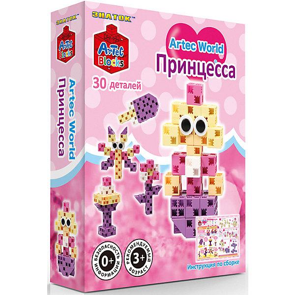 Купить Конструктор Znatok ARTEC World Принцесса коробка 30дет./72шт., Знаток, Китай, Унисекс