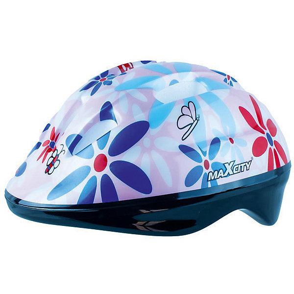 Шлем MaxCity Baby Bug розовый -