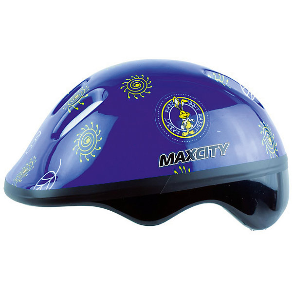 Шлем MaxCity Baby Little Rabbit, синий