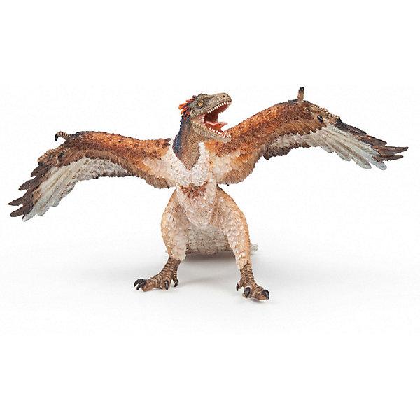 Коллекционная фигурка PaPo АрхаеоптерихФигурки динозавров<br>Характеристики:<br><br>• игровая фигурка динозавра;<br>• реалистичная копия;<br>• ручная роспись;<br>• тщательная подготовка и обработка фигурок Раро;<br>• крепкая и долговечная игрушка;<br>• материал: высококачественный полимер;<br>• высота фигурки: 7 см;<br>• размер упаковки: 7х12х7 см;<br>• вес: 30 г.<br><br>Архаеоптерих – мелкий динозавр с длинным костистым хвостом, маховыми и рулевыми перьями, которые соответствовали элементам пера птиц. Имел зубы, а на крыльях по 3 пальца с когтями для лазания по деревьям. Игровая фигурка Архаеоптериха выполнена настолько реалистично, что ребенок сможет досконально изучить особенности данного представителя предка птиц. <br><br>Коллекционную фигурку PaPo Архаеоптерих можно купить в нашем интернет-магазине.<br>Ширина мм: 7; Глубина мм: 12; Высота мм: 7; Вес г: 30; Возраст от месяцев: 36; Возраст до месяцев: 2147483647; Пол: Унисекс; Возраст: Детский; SKU: 8646934;