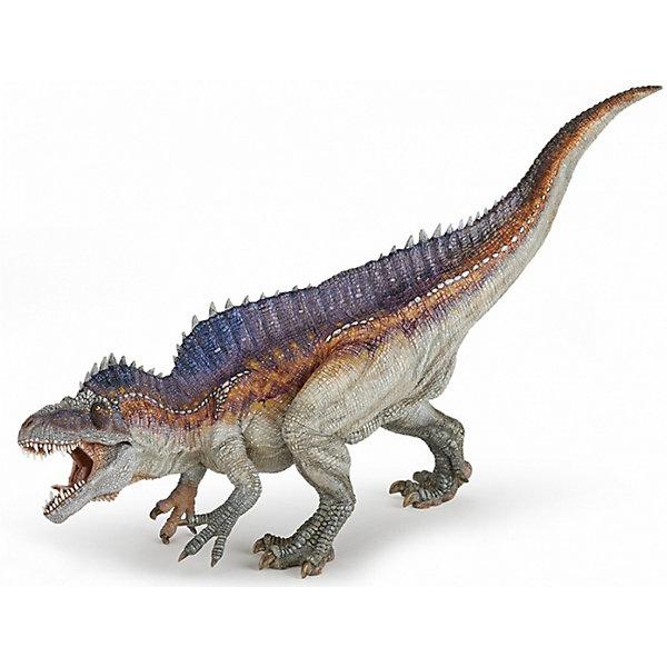 papo Коллекционная фигурка PaPo Акрокантозавр военные игрушки для детей sideshow papo safari weta
