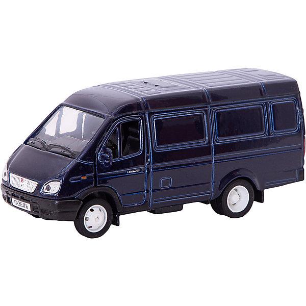 Купить Машинка Autotime Газель Фургон, 1:43, синяя, Китай, синий, Мужской