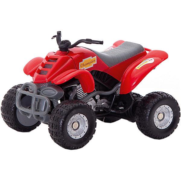 Autotime Мотоцикл Autotime Quadrobike Monster 1:16, autotime мотоцикл honda valkyrie