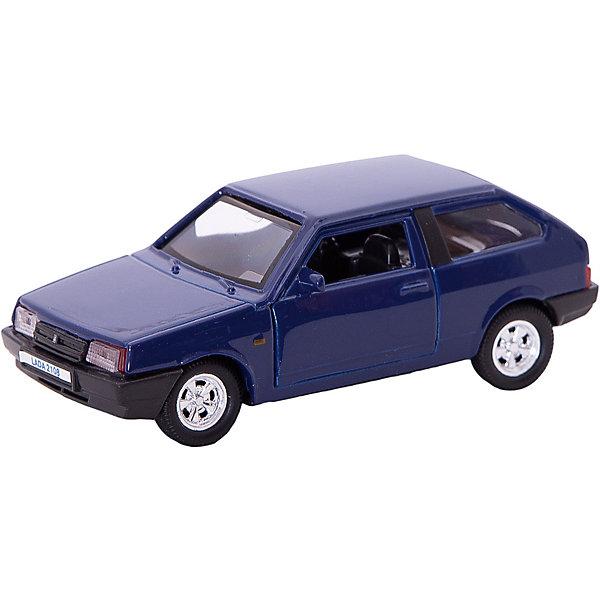 Купить Коллекционная машинка Autotime Lada 2108, 1:34/39, синяя, Китай, синий, Мужской
