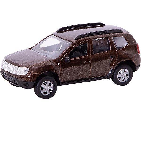 Коллекционная машинка Autotime Renault Duster, 1:38, коричневаяМашинки<br>Характеристики:<br><br>• возраст: от 3 лет;<br>• материал: пластик, металл;<br>• масштаб: 1:38;<br>• цвет: коричневый;<br>• размер: 16x7x5 см;<br>• бренд: Autotime.<br><br>Коллекционная машинка Autotime Renault Duster, 1:38, коричневая - это коллекционная модель, обладающая инерционным механизмом. Все детали машины тщательно проработаны, она содержит подвижные элементы - открывающиеся двери и капот, вращающиеся руль и колеса. <br><br>Этот надежный и красивый автомобиль прекрасно пополнит любую коллекцию ребенка и автолюбителя. Модель изготовлена из пластика и металла, качественно окрашена и декорирована, как настоящий автомобиль.<br><br>Коллекционную машинку Autotime Renault Duster, 1:38, коричневую можно купить в нашем интернет-магазине.<br>Ширина мм: 165; Глубина мм: 72; Высота мм: 57; Вес г: 159; Цвет: коричневый; Возраст от месяцев: 36; Возраст до месяцев: 2147483647; Пол: Мужской; Возраст: Детский; SKU: 8648328;