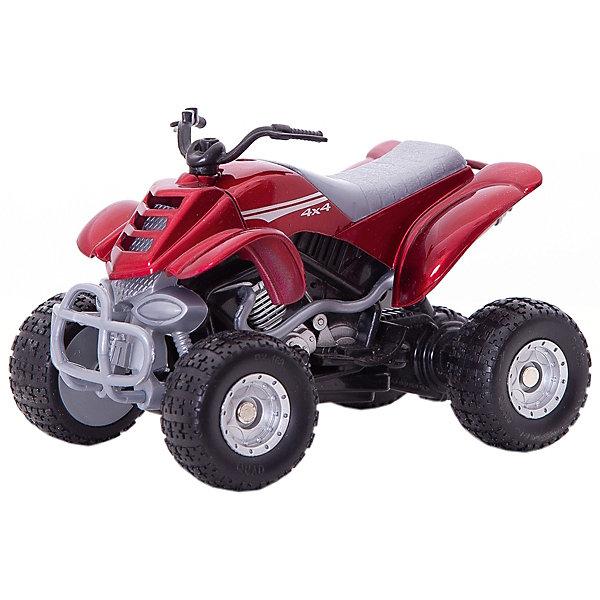 Коллекционный квадроцикл Autotime Quadrobike Fire, 1:16, краснаяМашинки<br>Характеристики:<br><br>• возраст: от 3 лет;<br>• материал: пластик, металл;<br>• масштаб: 1:16;<br>• цвет: красный;<br> • тип батареек: 2 x AG13 / LR44 (миниатюрные);<br>• наличие батареек: входят в комплект;<br>• размер: 16x11x8 см;<br>• бренд: Autotime.<br><br>Коллекционный квадроцикл Autotime Quadrobike Fire, 1:16, красный представляет собой уменьшенную копию реального мотоцикла. Модель изготовлена из металла, имеет некоторые пластиковые детали. Мотоцикл выполнен с высокой степенью детализации и максимально приближен к внешнему виду своего прототипа. Если нажать на кнопку сбоку, мотоцикл начнет издавать звуки, имитирующие езду.<br><br>Коллекционный квадроцикл Autotime Quadrobike Fire, 1:16, красный можно купить в нашем интернет-магазине.<br>Ширина мм: 165; Глубина мм: 114; Высота мм: 86; Вес г: 206; Цвет: красный; Возраст от месяцев: 36; Возраст до месяцев: 2147483647; Пол: Мужской; Возраст: Детский; SKU: 8648336;