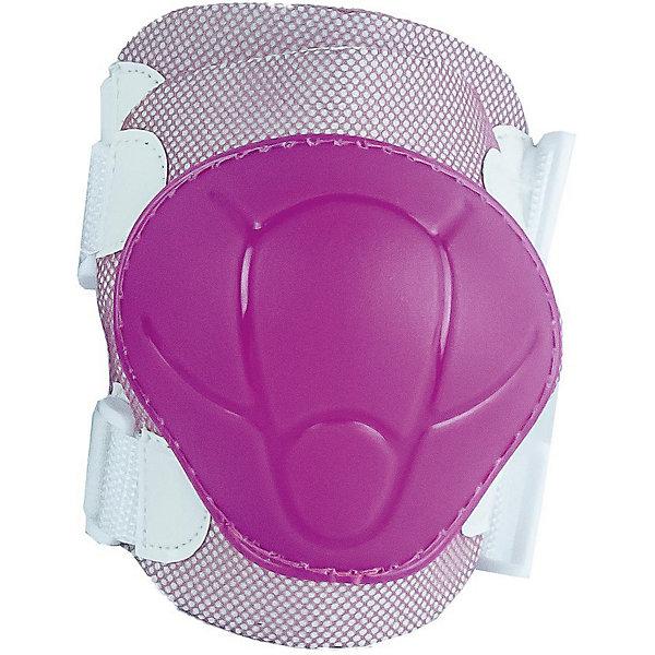 Комплект защиты MaxCity Color розовыйЗащитные аксессуары<br>Характеристики:<br><br>• возраст: от 4 лет;<br>• материал: пластик, резина, поролон;<br>• в наборе: защита коленей, защита локтей и запястий;<br>• вес упаковки: 270 г;<br>• размер упаковки: 35х16х5 см;<br>• страна бренда: Россия.<br><br>Детский комплект защиты MaxCity Color фиксируется по размеру благодаря регулируемым застежкам на липучках. Пластиковые наружные вставки предотвращают травмы при падении. Внутренняя поверхность из пеноматериала обеспечивает комфорт и дополнительную безопасность. Комплект не сковывает движения.<br>Ширина мм: 350; Глубина мм: 160; Высота мм: 50; Вес г: 230; Цвет: розовый; Возраст от месяцев: -2147483648; Возраст до месяцев: 2147483647; Пол: Женский; Возраст: Детский; Размер: 135-145,140-150; SKU: 8648364;