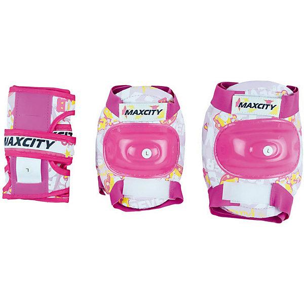 MaxCity Комплект защиты MaxCity Teddy, пилка dewal прямая белая 100 180 18 см