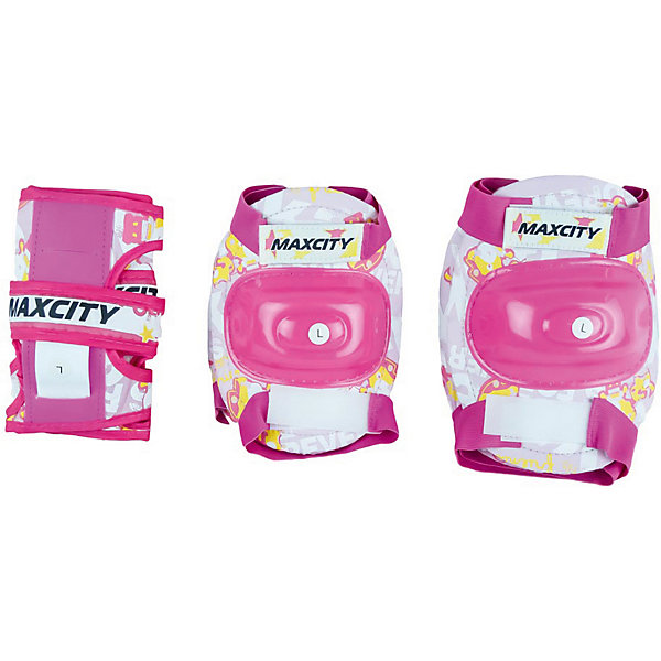 MaxCity Комплект защиты MaxCity Teddy, шлемы и защита maxcity шлем baby teddy